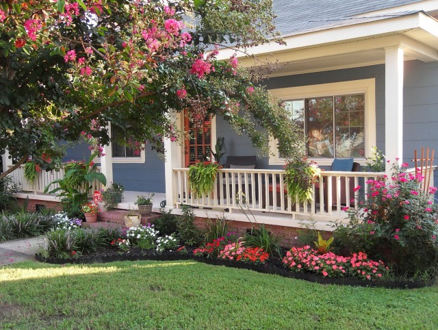 Small Front Porch Garden Ideas