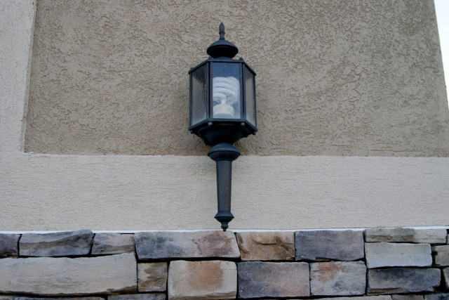 Solar Porch Light Home Depot