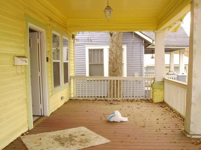 The Yellow Porch Menu
