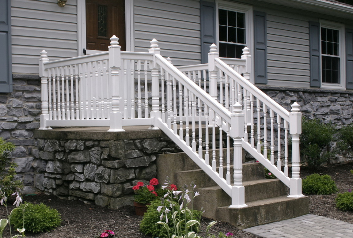 Vinyl Porch Railing Brackets