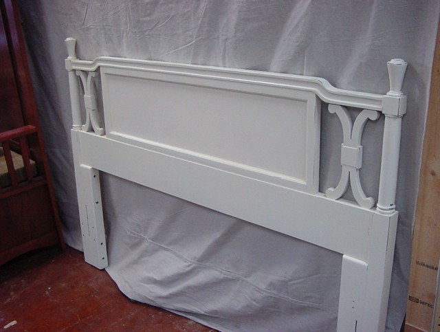 White Headboard Full Size