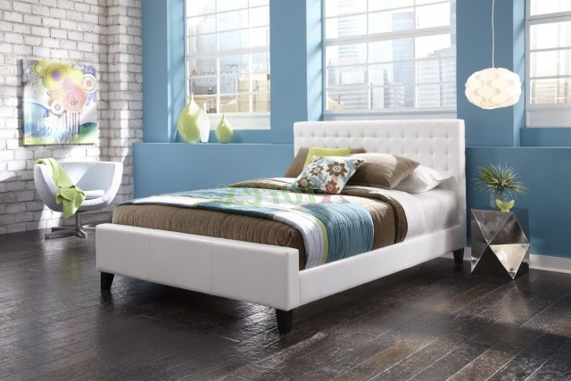 White Headboard Full Size Bed