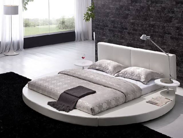 White Headboard King Size Bed