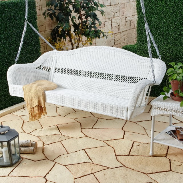 White Porch Swing Sale