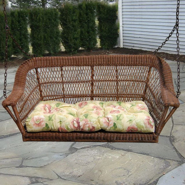 Wicker Porch Swing Home Depot