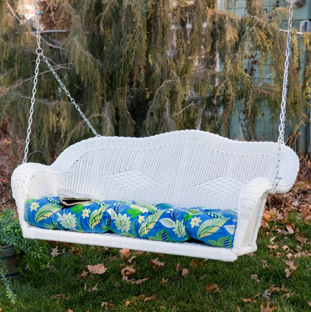 Wicker Porch Swing Replacement Cushions
