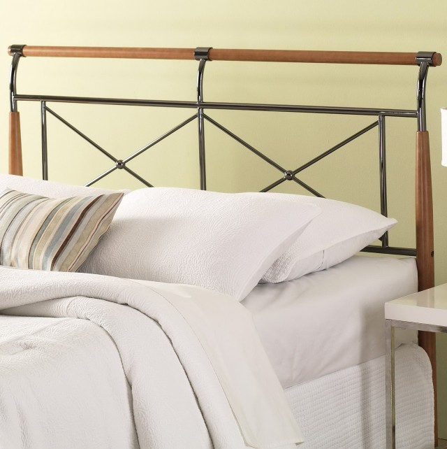 Wood And Metal Headboard Queen