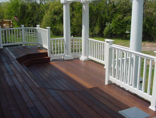 Wooden Porch Railing Designs