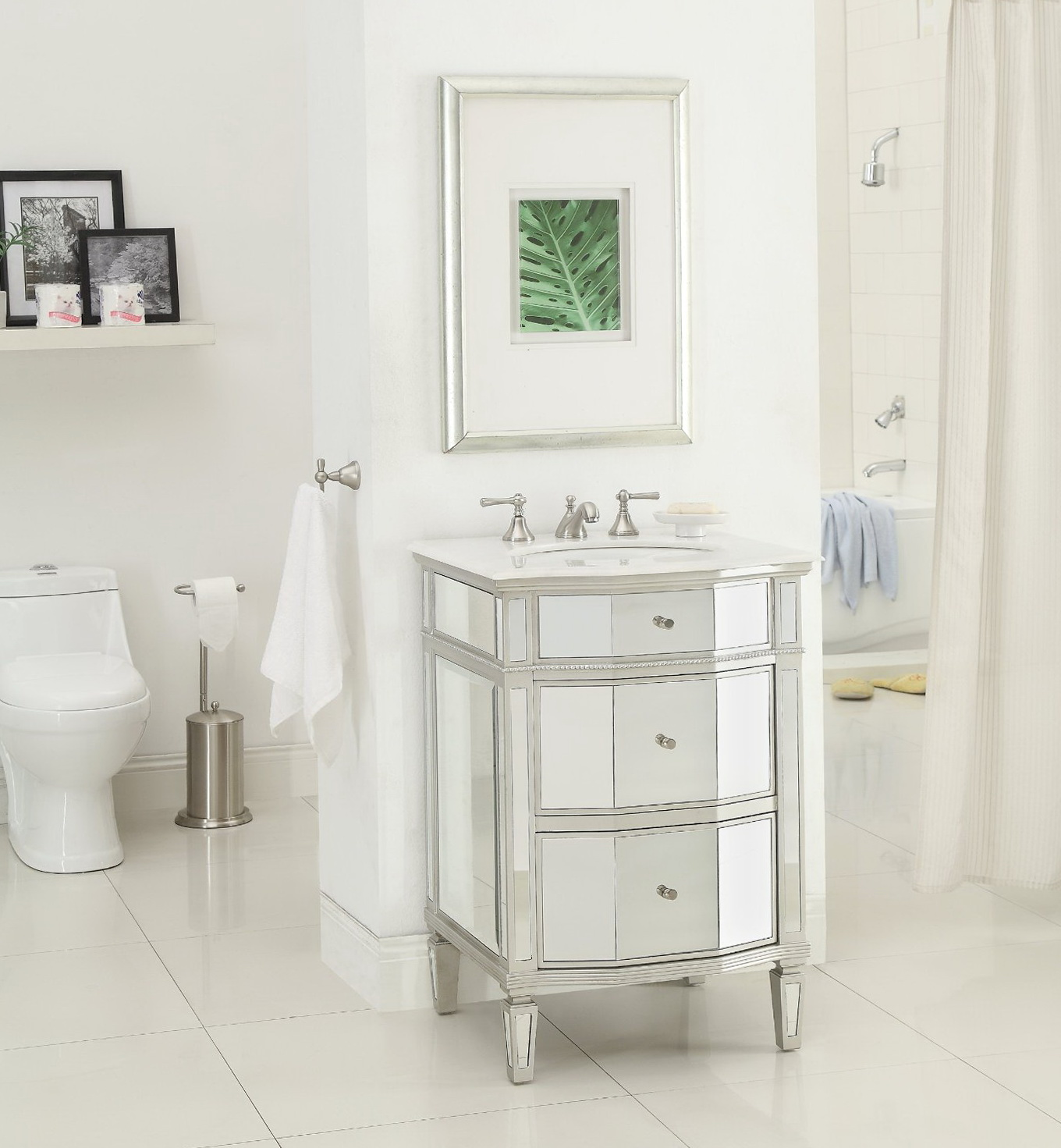 24 Inch Bathroom Vanity With Top