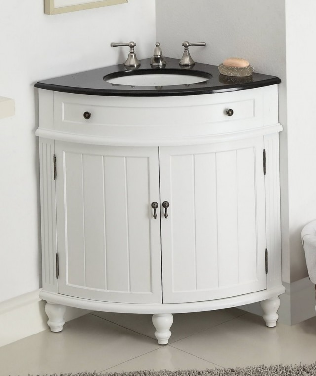 24 Inch Corner Bathroom Vanity