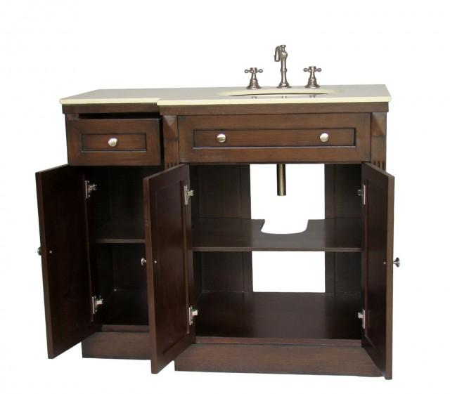 42 Inch Bathroom Vanity No Top