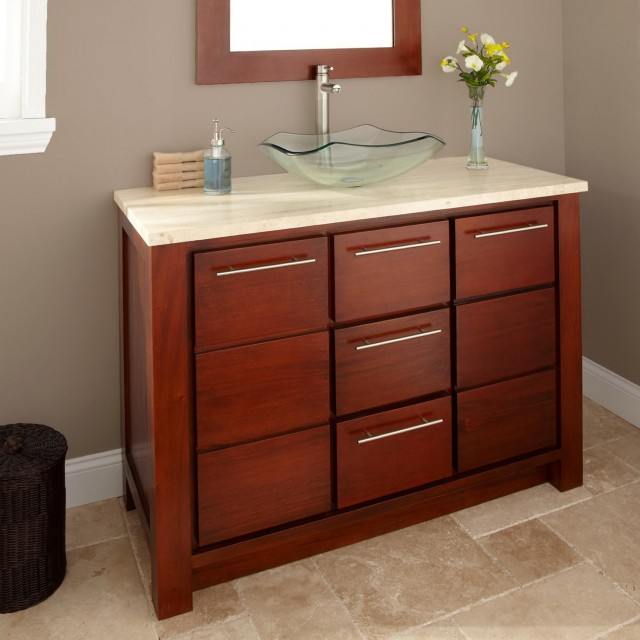 48 Bathroom Vanity With Offset Sink