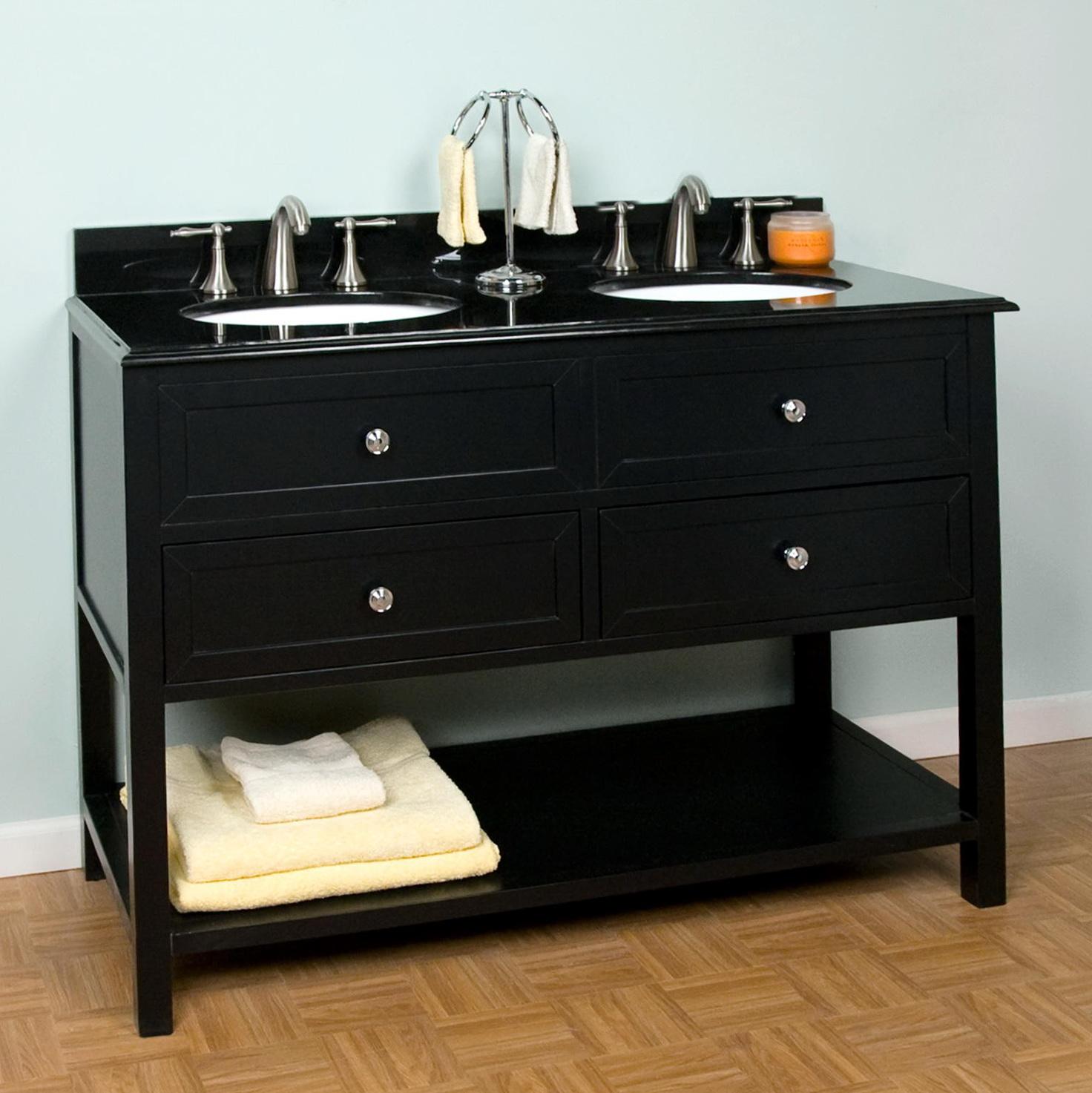 48 Inch Double Sink Vanity Top