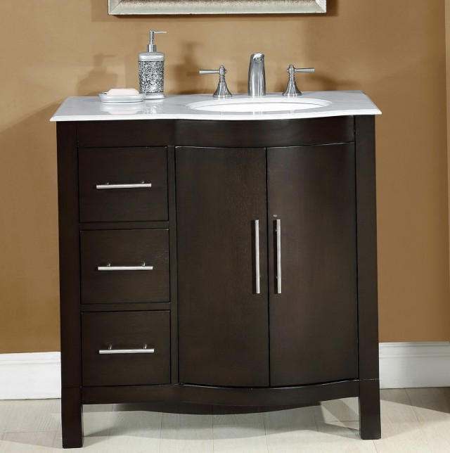 48 Inch Vanity With Left Side Sink