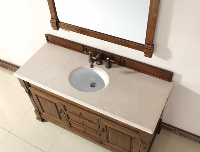 60 Inch Vanity With Linen Cabinet