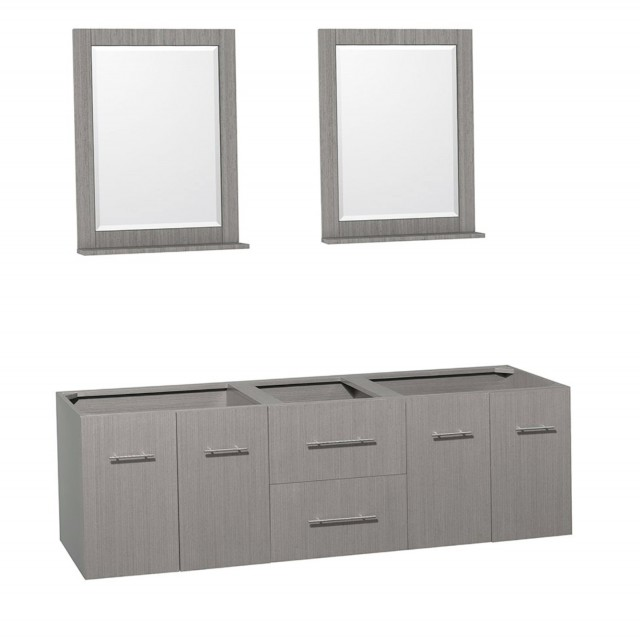 72 Inch Bathroom Vanity Gray