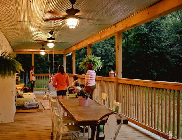 Back Porch Ceiling Ideas