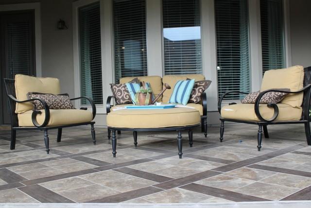 Back Porch Flooring Ideas