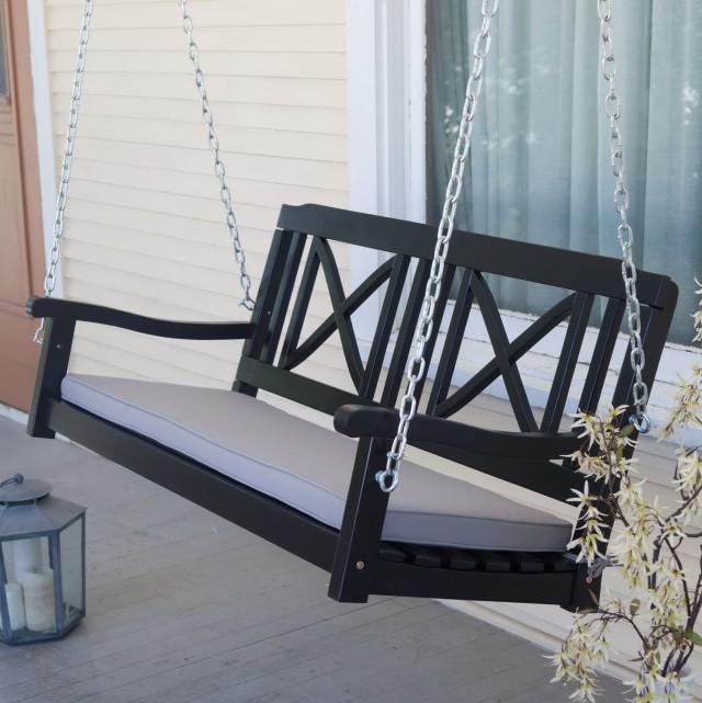 Black Porch Swing Chain