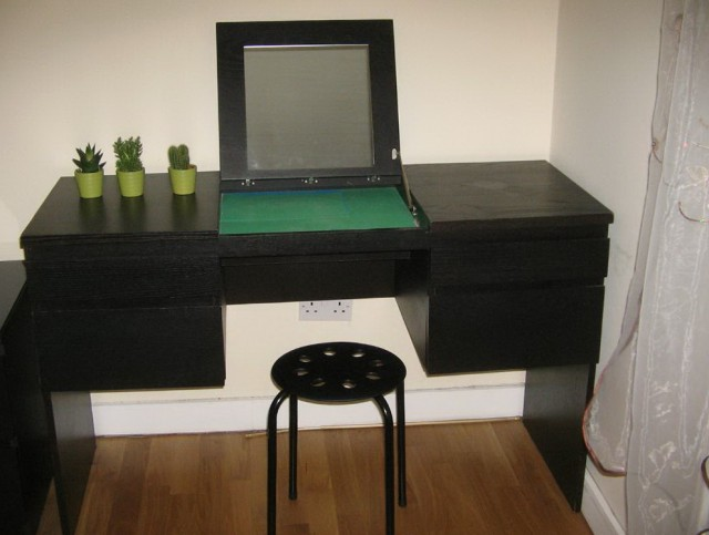 Black Vanity Table Ikea