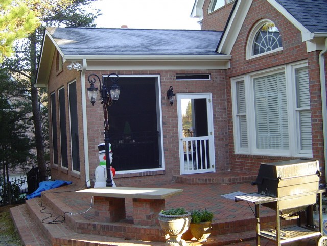 Brick Front Porch Ideas