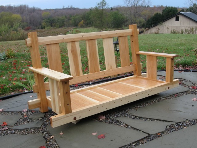 Build A Porch Swing Plans
