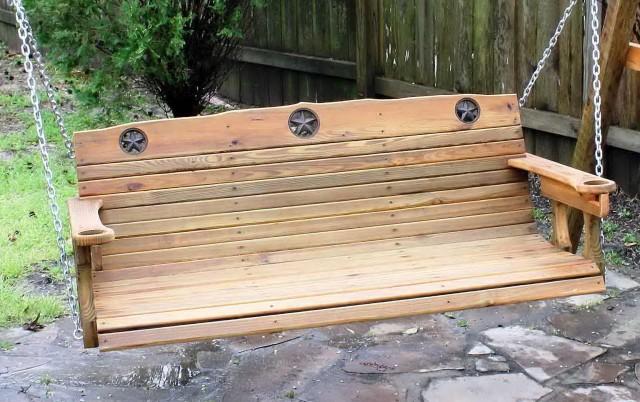 Cedar Porch Swing Plans