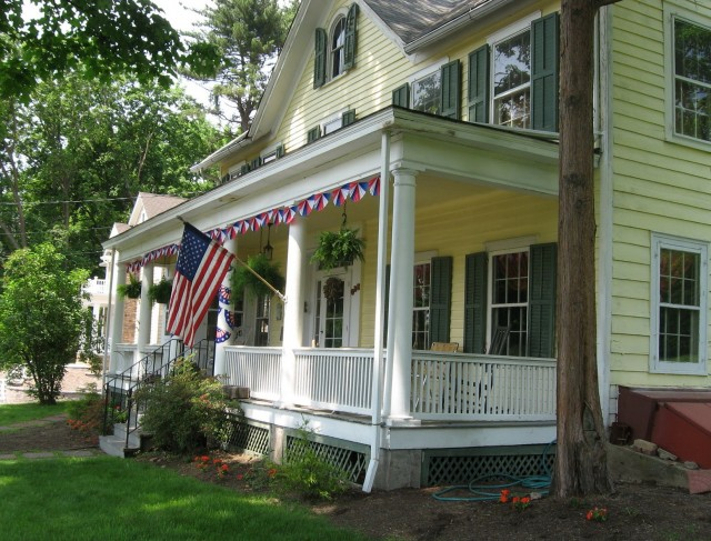 Colonial Houses With Front Porches