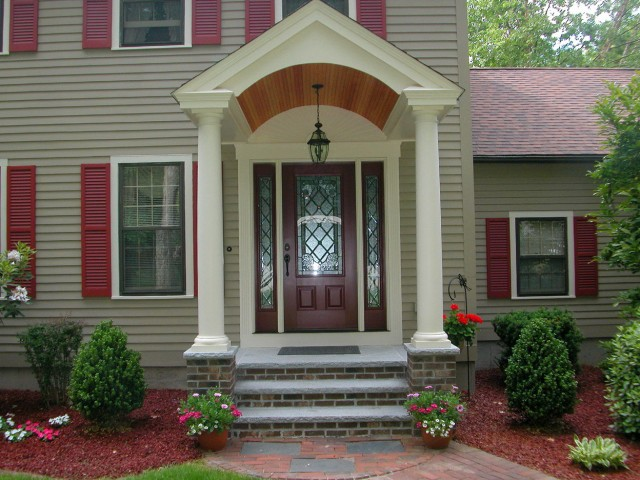 Concrete Front Porch Step Ideas