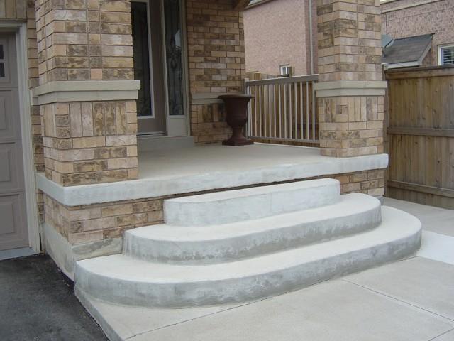 Concrete Front Porch Steps