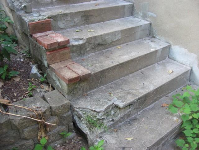 Concrete Porch Steps Home Depot
