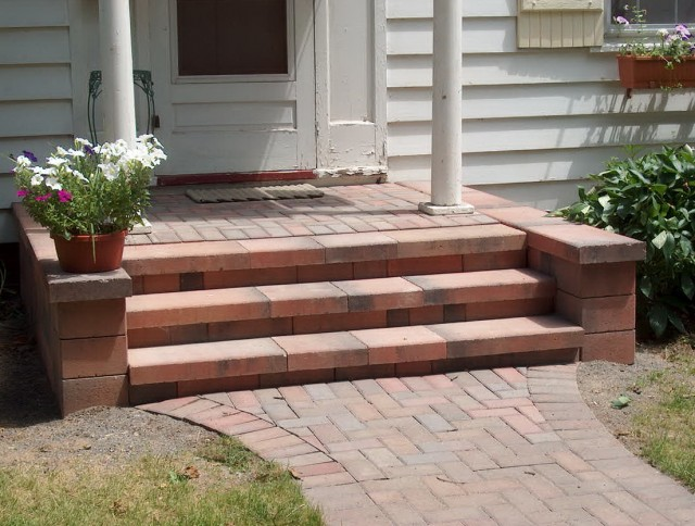 Concrete Porch Steps Lowes