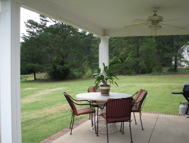 Covered Back Porch House Plans