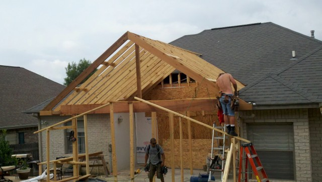 Covered Front Porch Addition