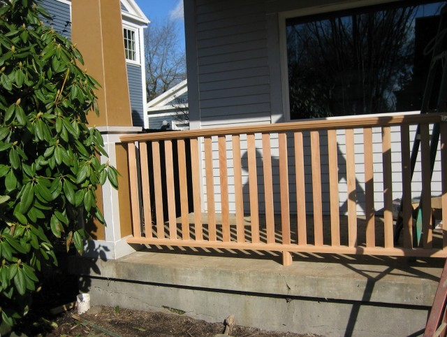 Craftsman Front Porch Railing