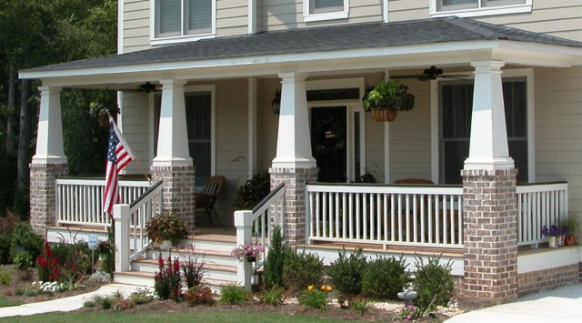 Craftsman Style Front Porch Pictures