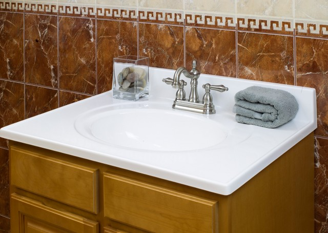Cultured Granite Vanity Tops