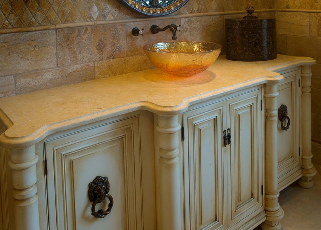 Custom Bathroom Vanities And Cabinets