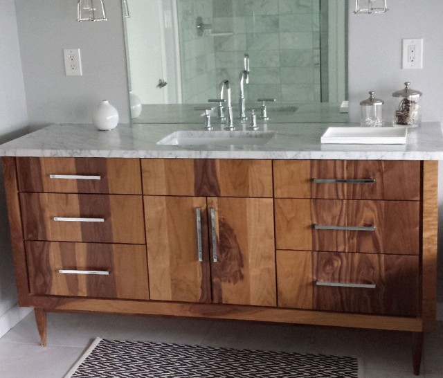 Custom Made Bathroom Vanities