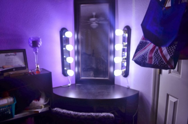 Diy Black Makeup Vanity