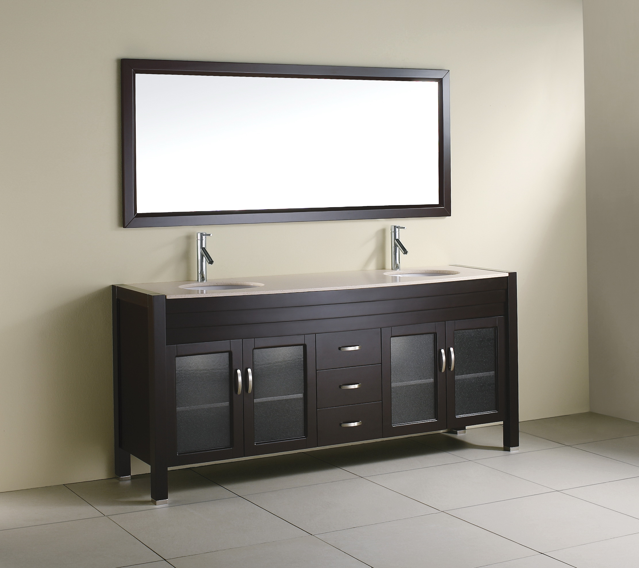 Double Bathroom Vanities Without Tops