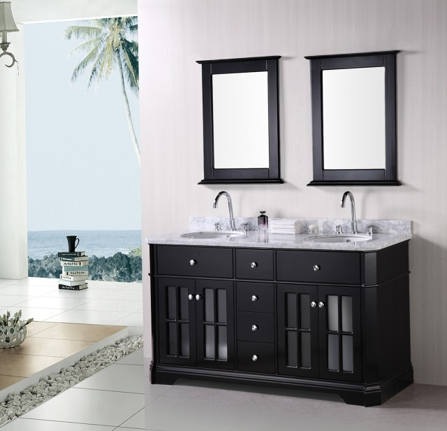 Double Sink Vanities For Bathrooms