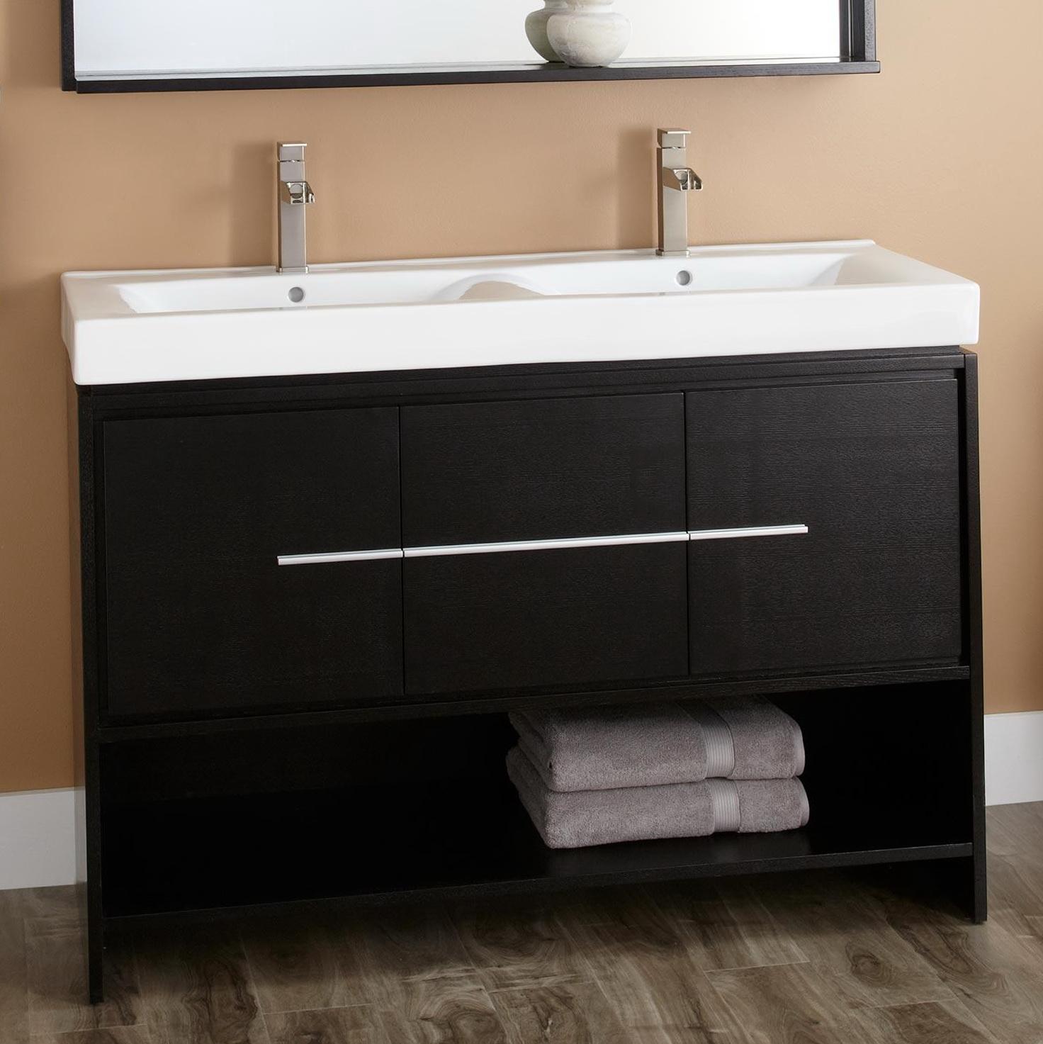 Double Vanity Bathroom Sinks