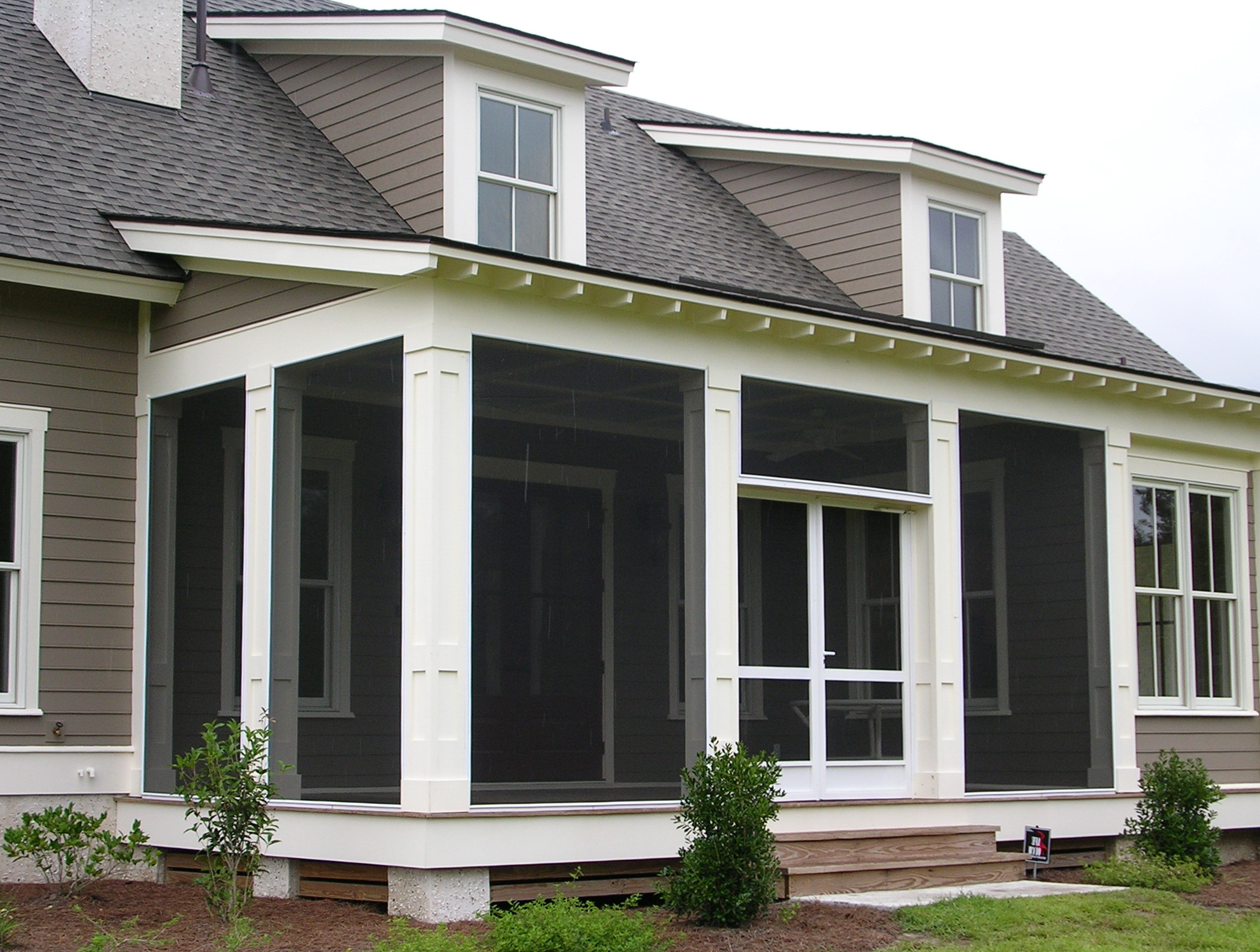 Enclosed Front Porch Designs For Houses