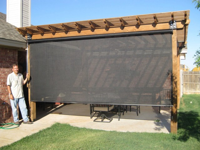 Exterior Screen Porch Shades