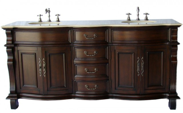 Extra Wide Single Sink Vanity