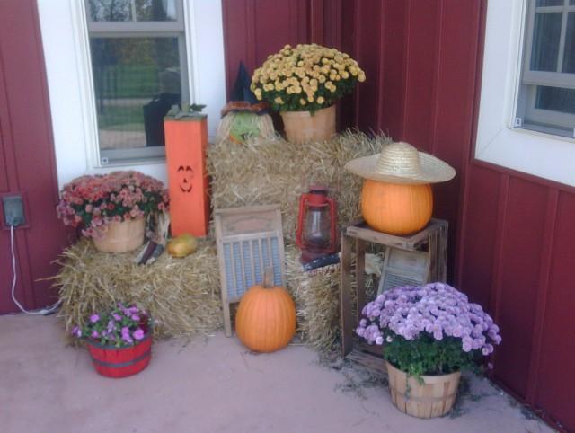 Fall Porch Decor Pinterest