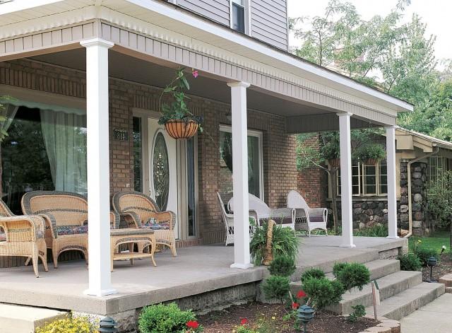 Fiberglass Columns For Front Porch