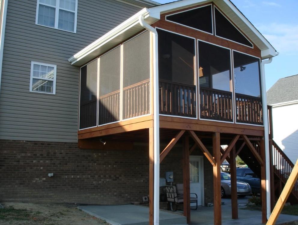 Framing A Flat Porch Roof