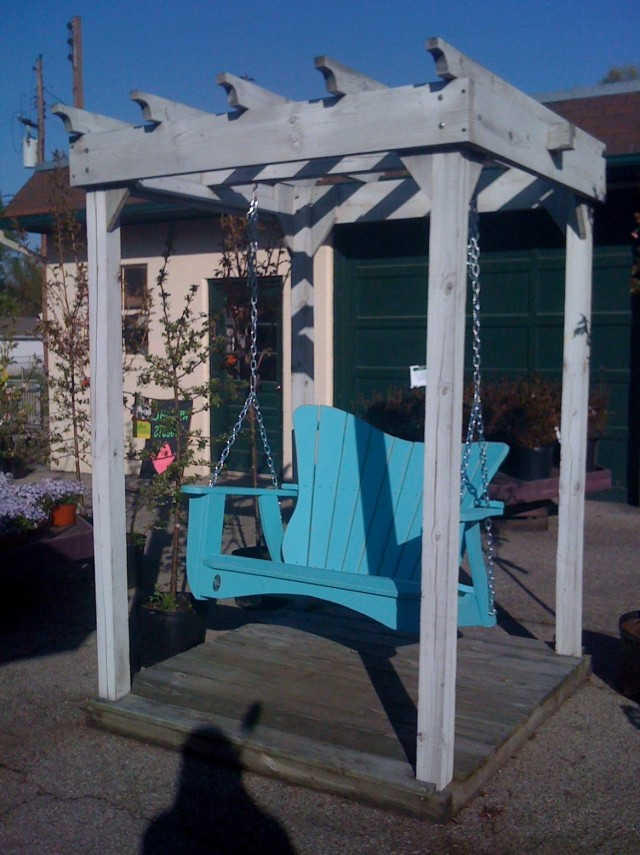Free Standing Porch Swing Diy